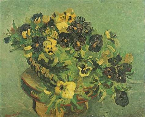 Vincent van Gogh: The Paintings (Tambourine with Pansies)