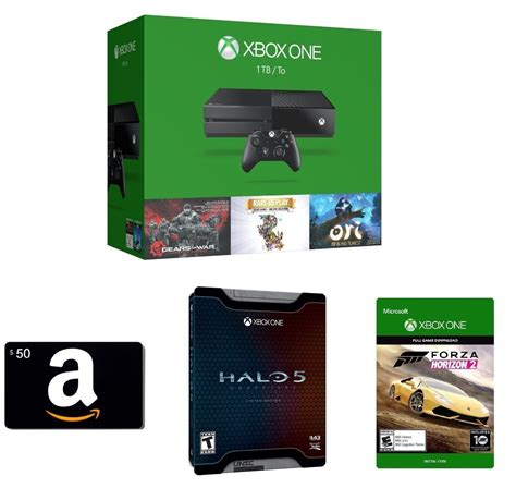 Deal: Amazon offering $50 Gift Card, Halo 5 Limited