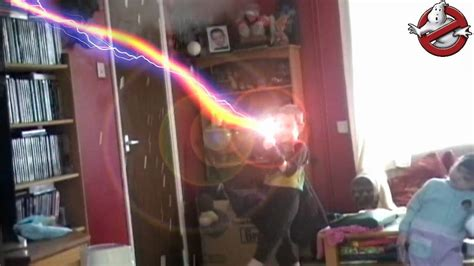 Ghostbusters proton pack stream effect in after effects v1