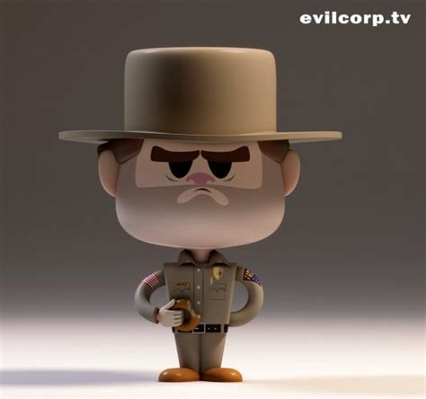 Cool Art: Stranger Things figures from EvilCorp | Live for