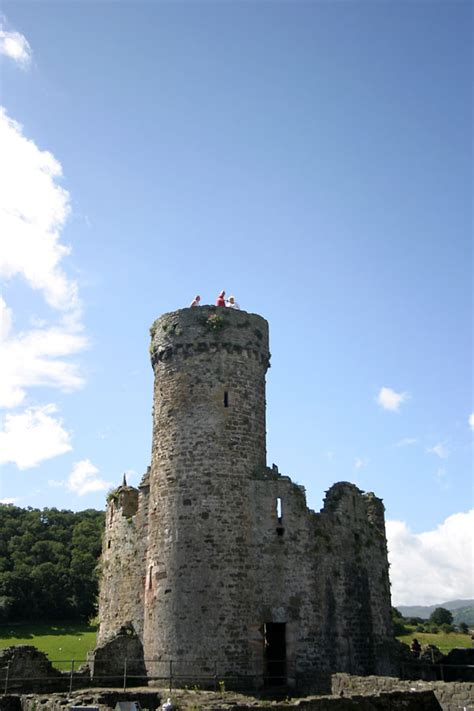 Inside Castle Tower Photo / Picture / Image : Conwy Castle