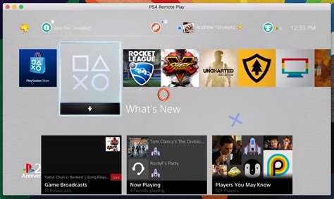Stream PlayStation 4 games from the console to your Mac
