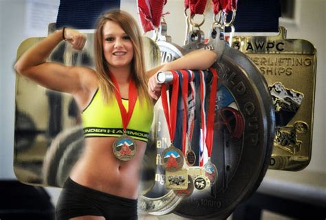Local Teenage Girls Aim for Powerlifting Records