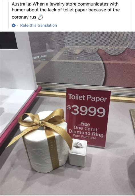 We May Run Out Of Toilet Paper, But We'll Have Toilet
