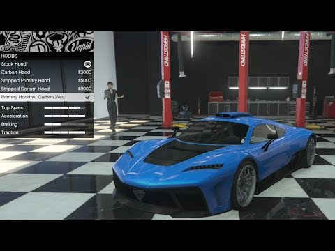 Benefactor Krieger in GTA 5 Online where to find and to