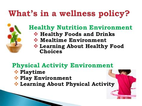 Creating a child care wellness policy