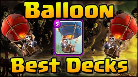 Clash Royale - Best Balloon Air Decks and Attack Strategy