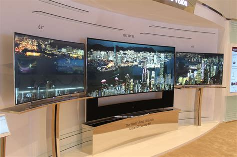 LG takes On Samsung With 105-inch Curved UHD TV And