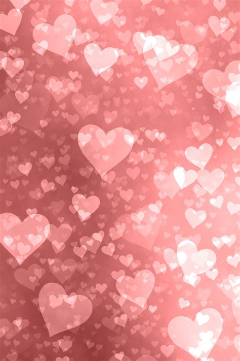 iPhone Background - Hearts | Happy Valentine's Day