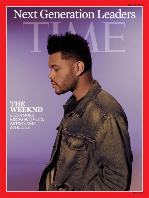 The Weeknd Covers 'TIME' Magazine