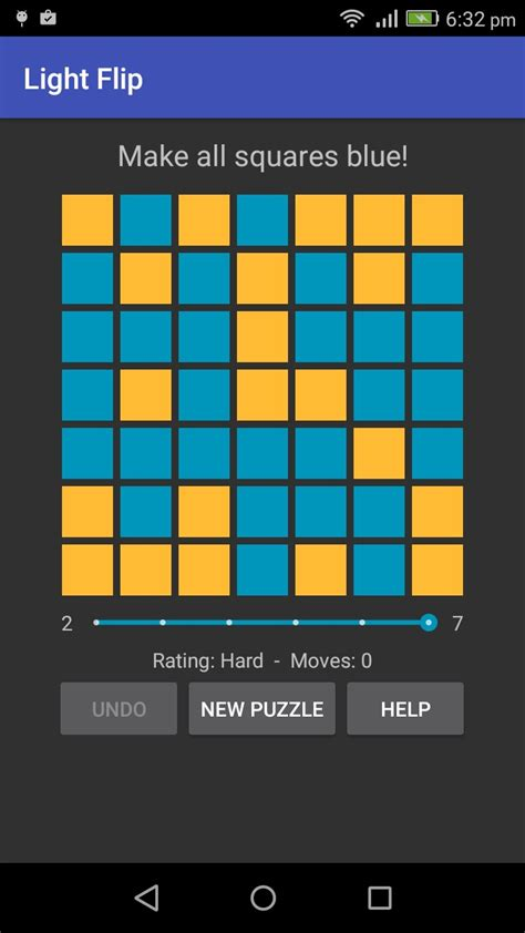 Light Flip - A challenging cell inversion puzzle game