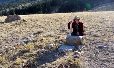 Old City Cemetery - Geocache on a Yellowstone Boot Hill