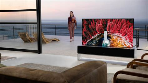 LG SIGNATURE OLED R Rollable TV is now available for