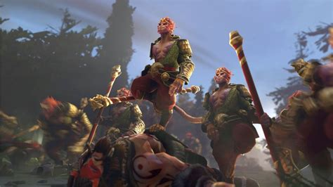 Go on a journey with the Monkey King in Dota 2 this fall