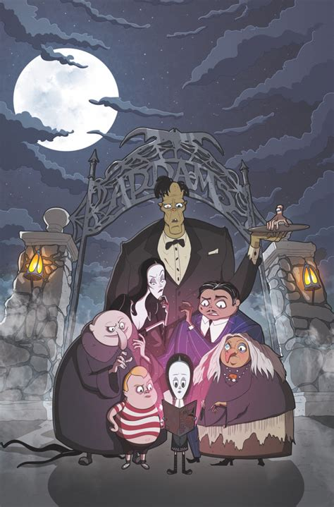 IDW gets spooky with The Addams Family: The Bodies Issue