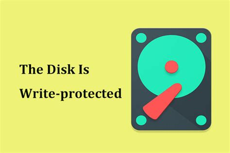 The Disk Is Write-protected? Remove It from USB Windows 10