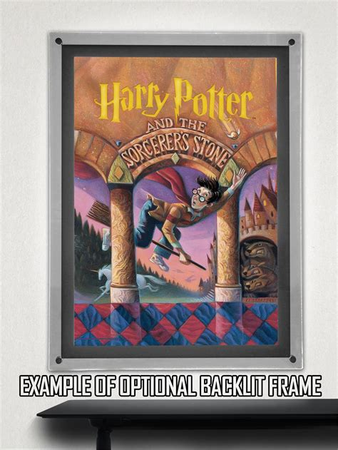Harry Potter (Book Cover - Sorcerers Stone) MightyPrint