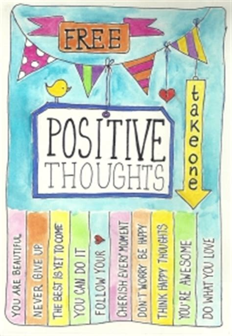 Free Positive Thoughts en Take what you need