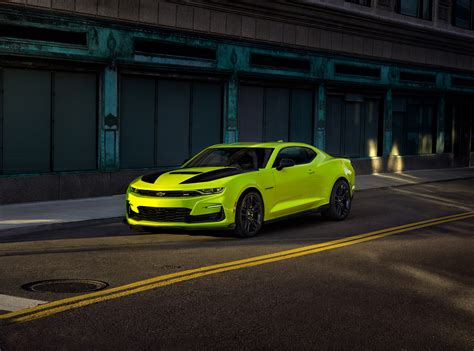 2019 Chevrolet Camaro Offered in New Shock Yellow Color