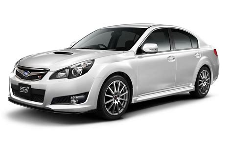 Subaru Releases JDM Legacy Touched by STI - autoevolution