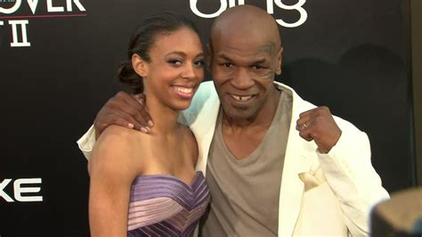 Retired heavyweight boxing champion Mike Tyson's family