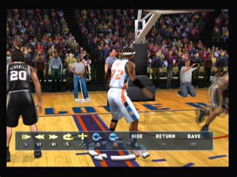 NBA 2k12 Ps2 Gameplay Created Player - YouTube