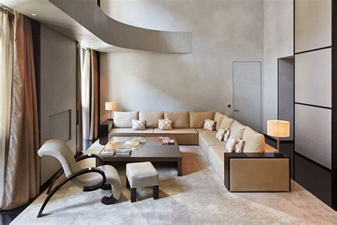 Suite of the week - Armani Signature Suite in Armani Hotel