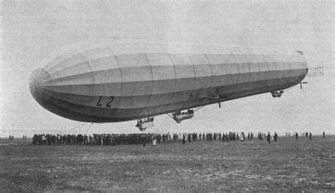 This Day In History: German Zeppelin Airship Attacks