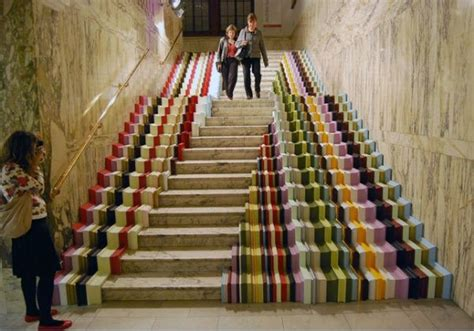 20 Awesome Stairs Street Art - Hative