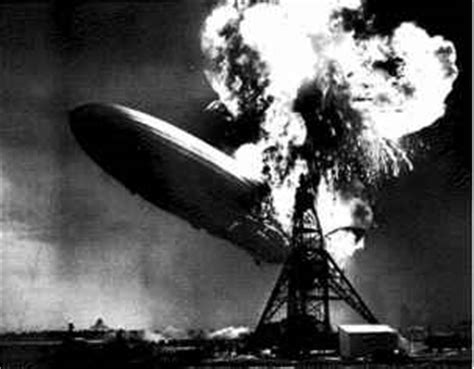 The Hindenburg and Challenger Disasters - Hydrogen