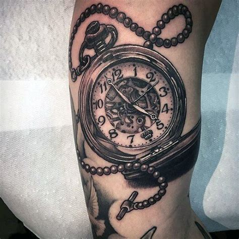 200 Meaningful Pocket Watch Tattoos (Ultimate Guide 2019