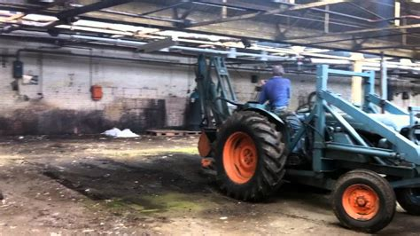 Whitlock Fordson Power Major Tractor / digger For sale on