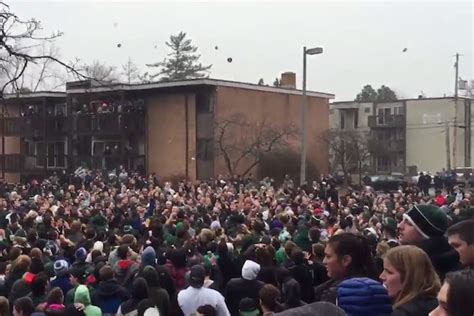 Michigan State Bagel Riot: Exactly What It Sounds Like