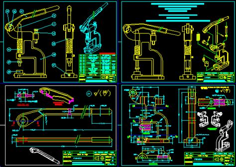 Punch in AutoCAD | Download CAD free (1